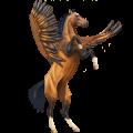 Pegasus Arabian Horse Flaxen Liver chestnut