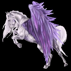 Pegasus Purebred Spanish Horse Cremello