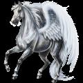 Pegasus Thoroughbred Light Gray