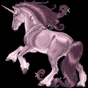 Unicorn Friesian Black