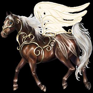 Pegasus Thoroughbred Liver chestnut