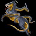 Horse Shagya Arabian Light Gray