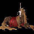 Unicorn Appaloosa Chestnut Blanket