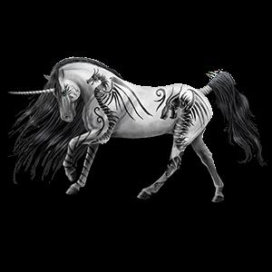 Unicorn Shetland Dapple Gray