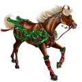 Riding Horse Thoroughbred Flaxen Liver chestnut