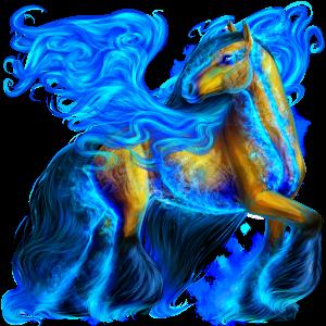 Pegaz Holenderski koń gorącokrwisty Kasztanowata