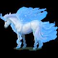 Winged unicorn Irish Hunter Dark Bay
