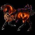 Pegasus Thoroughbred Palomino